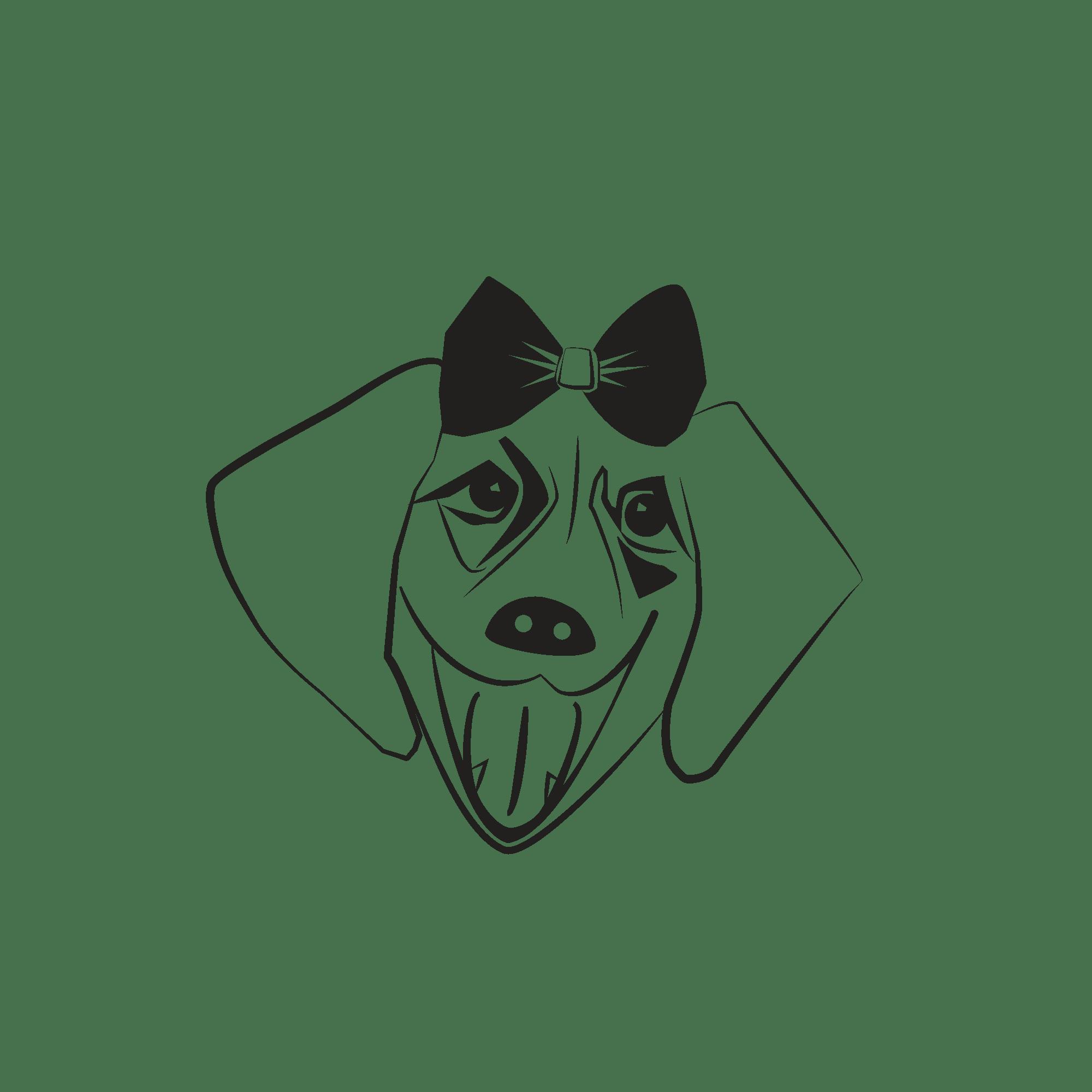 סוניה - ציור של כלבה